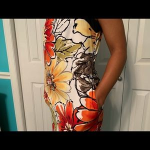 ABStudio dress with flowers